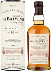 Виски Balvenie Caribbean Cask, 14 Years Old, in tube, 0.7 л