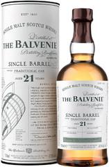 Виски Balvenie Single Barrel Traditional Oak, 21 Years Old, 0.7 л
