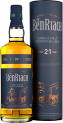 Виски Benriach 21 Years Old in tube, 0.7 л.