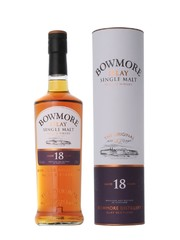 Виски Bowmore 18 Years Old, In Tube, 0.7 л