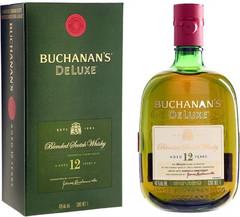 Виски Buchanan's De Luxe 12 Years Old, gift box, 0.75 л