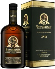 Виски Bunnahabhain aged 18 years, gift box, 0.7 л