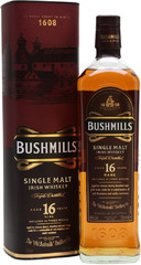 Виски Bushmills 16 Years Old, gift box, 0.7 л