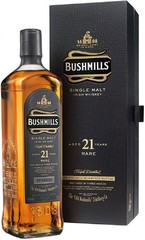 Виски Bushmills 21 Years Old, gift box, 0.7 л