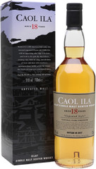 Виски Caol Ila 18 Years Old Unpeated Style, gift box, 0.7 л