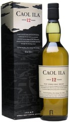 Виски Caol Ila malt 12 years old, with box, 0.75 л