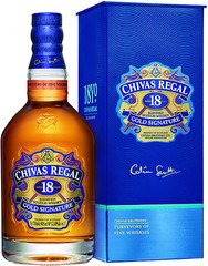 Виски Chivas Regal 18 years old, with box, 0.7 л
