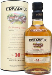 Виски Edradour 10 Years Old Gift Box, 0,7 л.