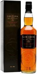 Виски Glen Scotia 15 Years Old, gift box, 0.7 л