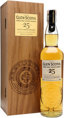 Виски Glen Scotia 25 Years Old, wooden box, 0.7 л