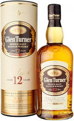Виски Glen Turner 12 Years Old gift tube, 0,7 л.