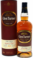 Виски Glen Turner Heritage Double Cask gift tube, 0,7 л.
