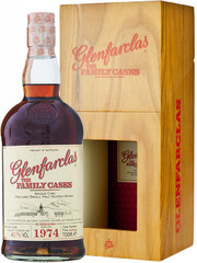 Виски Glenfarclas 1974 Family Casks in gift box, 0.7 л.