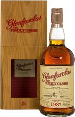 Виски Glenfarclas 1987 Family Casks in gift box, 0.7 л.