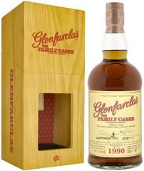 Виски Glenfarclas 1990 Family Casks in gift box, 0.7 л.