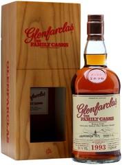 Виски Glenfarclas 1993 Family Casks in gift box, 0.7 л.