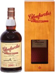 Виски Glenfarclas 2001 Family Casks in gift box, 0.7 л.