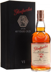 Виски Glenfarclas 40 Years Old 1976 , 0.7 л