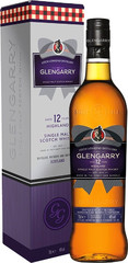Виски Glengarry 12 Years Old, gift box, 0.7 л