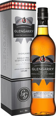 Виски Glengarry Single Malt, gift box, 0.7 л