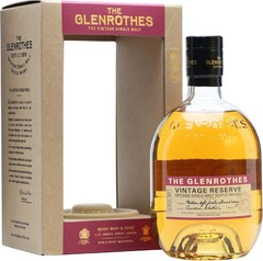Виски Glenrothes Vintage Reserve, gift box, 0.7 л