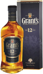 Виски Grant's 12 years old, gift box, 0.75 л