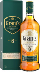 Виски Grant's Sherry Cask Finish 8 Years Old, gift box, 0.7 л