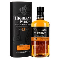 Виски Highland Park 12 Years Old, with box, 0.7 л