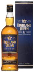 Виски Highland Queen 12 Years Old, gift box, 0.7 л