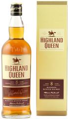 Виски Highland Queen 8 Years Old, gift box, 0.7 л