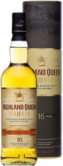 Виски Highland Queen Majesty 16 Years Old, in tube, 0.7 л