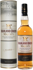 Виски Highland Queen Majesty Classic, in tube, 0.7 л