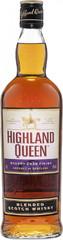 Виски Highland Queen Sherry Cask Finish, 0.7 л