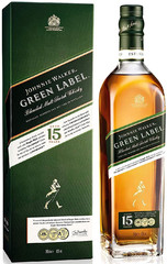 Виски Johnnie Walker Green Label 15 years old, 0.7 л.