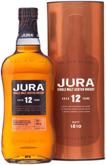 Виски Jura Aged 12 Years in gift box, 0.7л