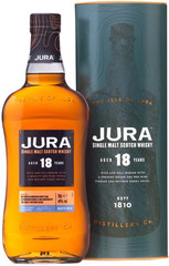 Виски Jura Aged 18 Years in gift box, 0,7 л.