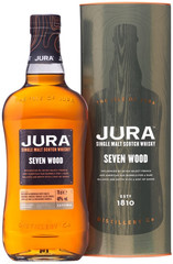 Виски Jura Seven Wood in gift box, 0.7л.
