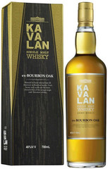 Виски Kavalan Single Malt Ex-Bourbon Oak Gift Box, 0.7 л