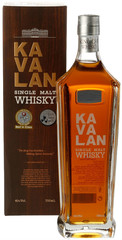 Виски Kavalan Single Malt Gift Box, 0.7 л