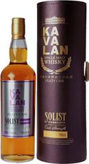 Виски Kavalan Solist Peaty Cask  in tube, 0.7 л.