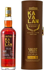 Виски Kavalan Solist Port Cask in tube, 0.7 л.