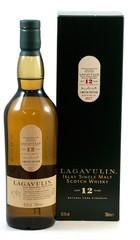 Виски Lagavulin 12 Years Old  , gift box, 0.7 л
