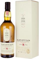 Виски Lagavulin 8 Years Old, gift box, 0.7 л