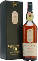 Виски Lagavulin malt 16 years old, with box, 0.75 л