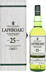 Виски Laphroaig 25 Years Old , gift box, 0.7 л