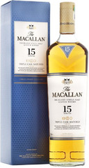 Виски Macallan Triple Cask Matured 15 Years Old, gift box, 0.7 л