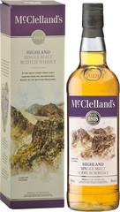 Виски McClelland's Highland, gift box, 0.7 л