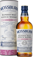 Виски Mossburn Signature Casks Speyside in tube, 0.7 л