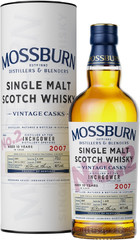 Виски Mossburn Vintage Casks No.2 Inchgower, 2007, in tube, 0.7 л