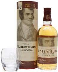 Виски Robert Burns Single Malt Gift Box With Glass, 0.7 л